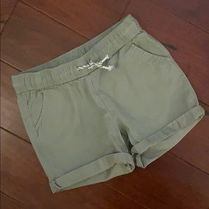 3/$15 Cat & Jack Girls Olive Shorts - S (6-6x)